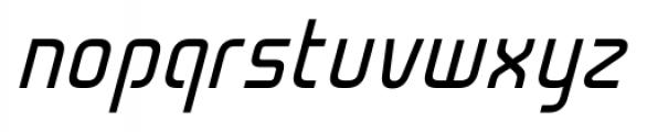 Cogan Straight Oblique Font LOWERCASE