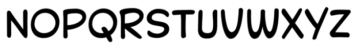 Collector Comic Pro Regular Font LOWERCASE