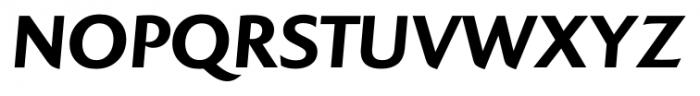 Colosseum Bold Italic Font UPPERCASE