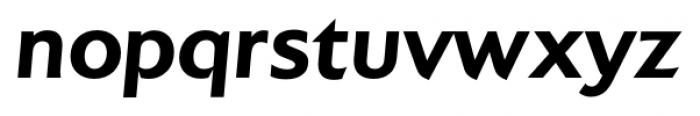 Colosseum Bold Italic Font LOWERCASE