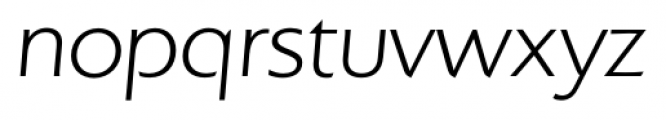 Colosseum Light Italic Font LOWERCASE