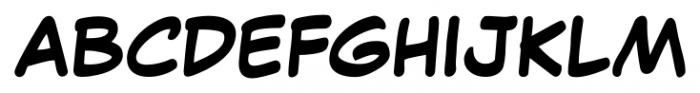 Comic Pro JY Normal Font UPPERCASE