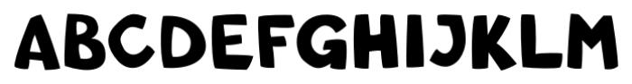 Comic SCF Regular Font UPPERCASE