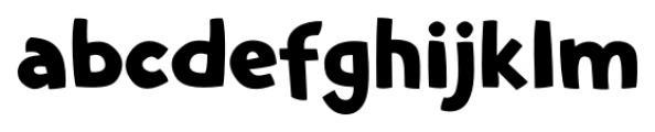 Comic SCF Regular Font LOWERCASE