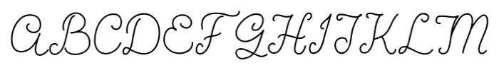 Coming Home Medium Font UPPERCASE