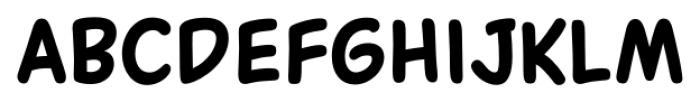 Common Comic Bold Font LOWERCASE