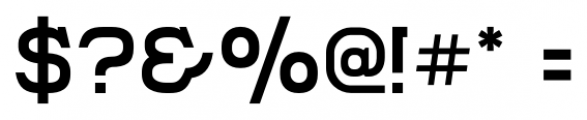 Compton Regular Font OTHER CHARS