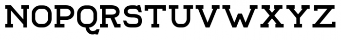 Compton Regular Font UPPERCASE