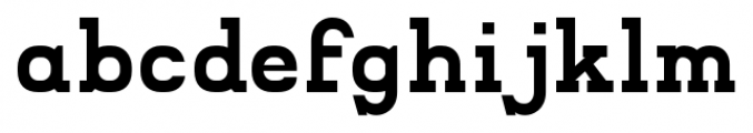 Compton Regular Font LOWERCASE