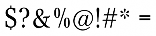 Concept Condensed Font OTHER CHARS