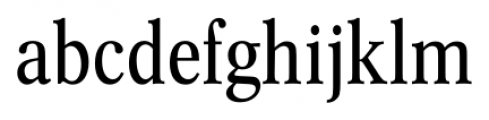 Concept Condensed Font LOWERCASE