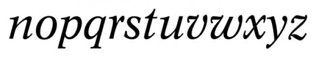 Concept Italic Font LOWERCASE