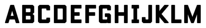 Conifer Solid Font LOWERCASE