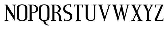 Consonant SRF Regular Font UPPERCASE