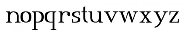 Consonant SRF Regular Font LOWERCASE