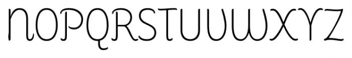 Consuelo Regular Font UPPERCASE