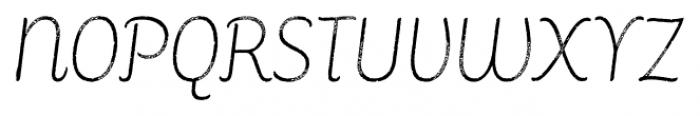 Consuelo Rough Italic Font UPPERCASE