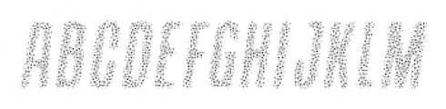 Containment Sparkle Font UPPERCASE