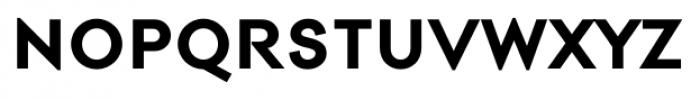 Contax Pro 75 Bold Sm Cap Font LOWERCASE