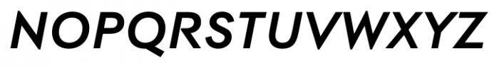 Contax Pro 76 Bold Italic Font UPPERCASE