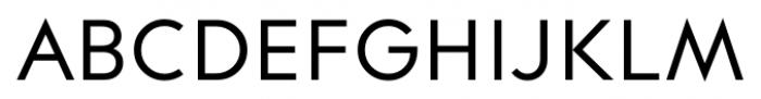 Contax Regular Font UPPERCASE