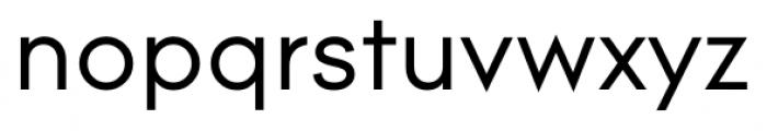 Contax Regular Font LOWERCASE