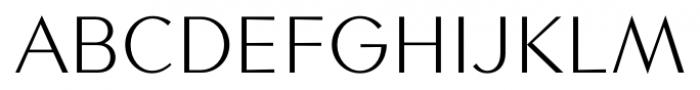 Contax Sans 45 Light Font UPPERCASE