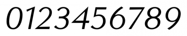 Contax Sans 56 Italic Font OTHER CHARS