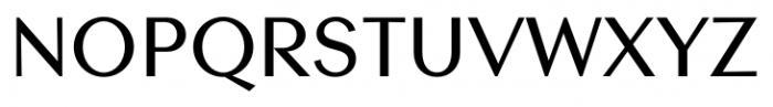 Contax Sans 65 Medium Font UPPERCASE