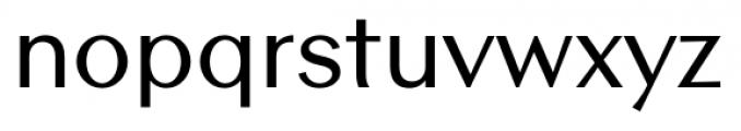Contax Sans 65 Medium Font LOWERCASE