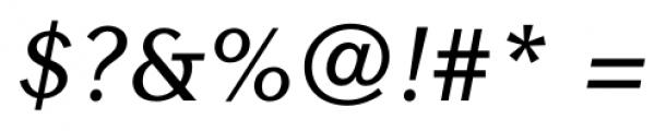 Contax Sans 66 Medium Italic Font OTHER CHARS