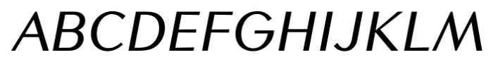 Contax Sans 66 Medium Italic Font UPPERCASE