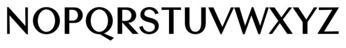 Contax Sans 75 Bold Font UPPERCASE