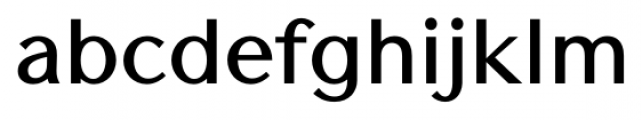 Contax Sans 75 Bold Font LOWERCASE