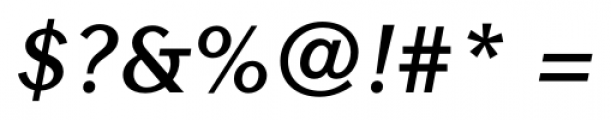 Contax Sans 76 Bold Italic Font OTHER CHARS