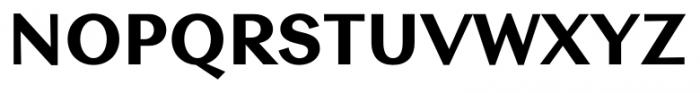 Contax Sans 85 Black Font UPPERCASE