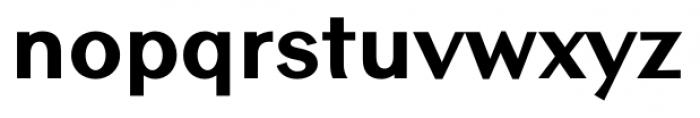 Contax Sans 85 Black Font LOWERCASE