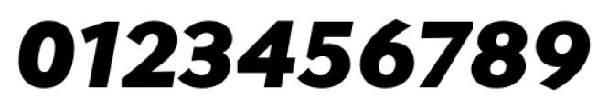 Contax Sans 96 UltraBlack Ita Font OTHER CHARS