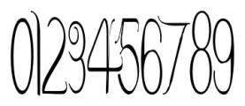 Contouration Regular Font OTHER CHARS