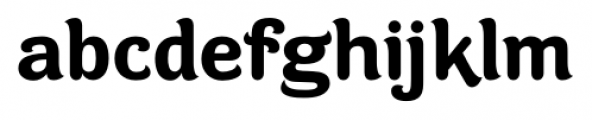 Contra Flare Bold Font LOWERCASE