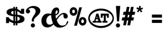 Copperjack Pro Regular Font OTHER CHARS