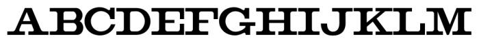Copperjack Pro Regular Font UPPERCASE