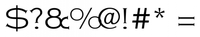 Copperplate Classic Light Floral Font OTHER CHARS