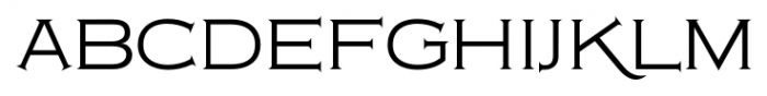 Copperplate Classic Light Floral Font LOWERCASE