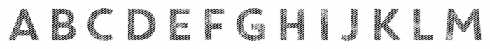 Core Circus Rough 2D Line1 Font UPPERCASE