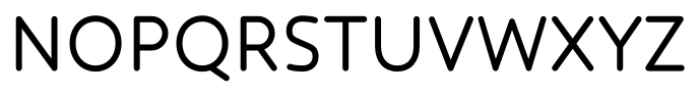 Core Humanist Sans Regular Font UPPERCASE