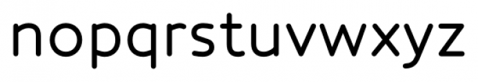 Core Humanist Sans Regular Font LOWERCASE