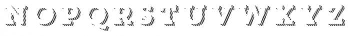 Core Magic 3D Line1 Font UPPERCASE