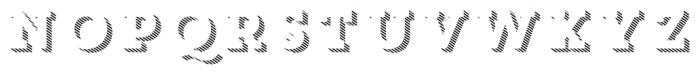 Core Magic 3D Line1 Font LOWERCASE