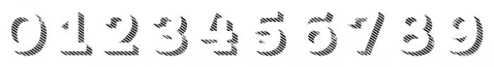 Core Magic Rough 3D Line1 Font OTHER CHARS